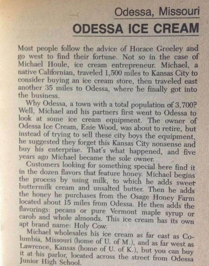 odessa ice cream